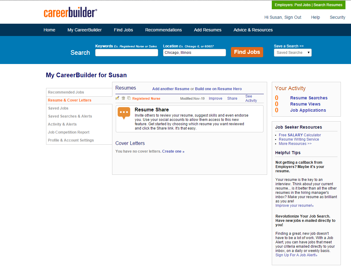 How to search for RN jobs | CareerBuilder